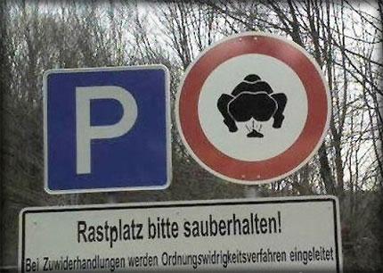 カオスな標識