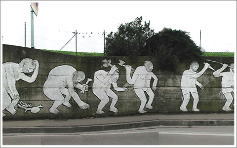 Evolution Graffiti