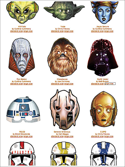 StarWars Masks
