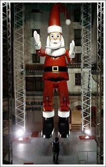 Santa Claus marionette-1