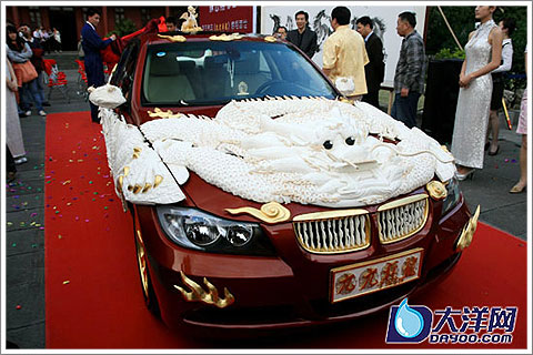 Ivory Carving Car-1