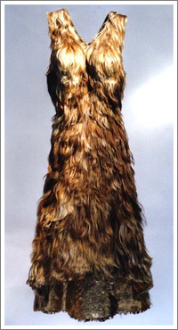 Human Hair Dress-Fur