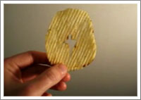 Jesus Potato chip