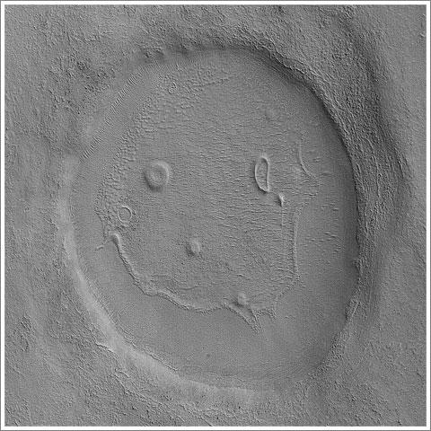 Smily on Mars