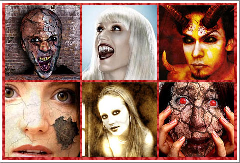 Horror Photoshop Effects and Brushes
