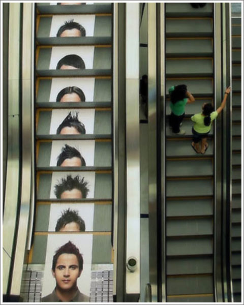 Escalator Ad