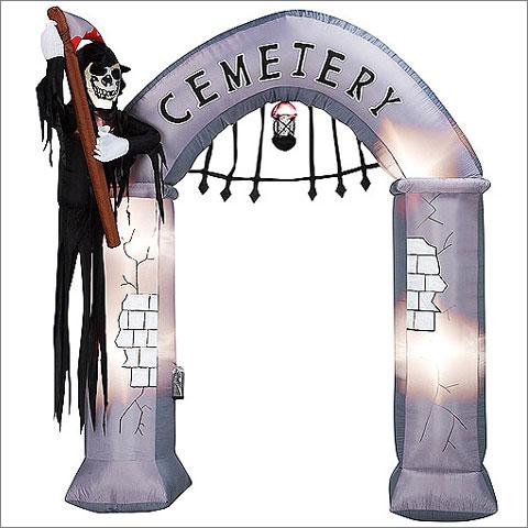 Airblown Archway-Cemetery Gate