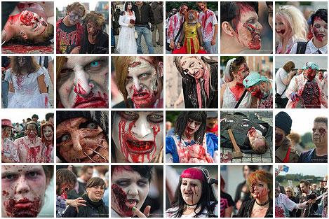 zombie photo set 1