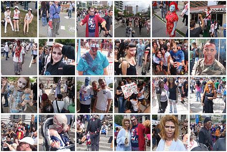 zombie photo set 4
