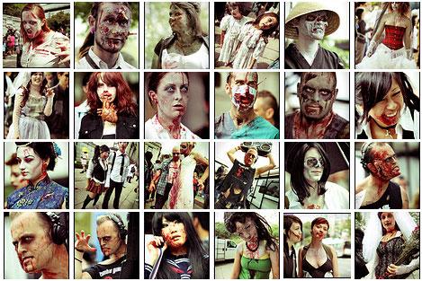 zombie photo set 5