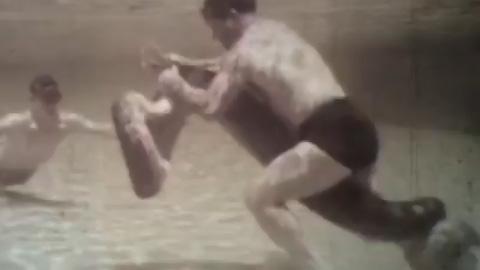 アナコンダと格闘する爬虫類学者ロス・アレン